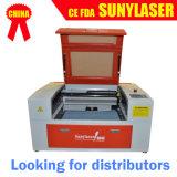 Cortador do laser do cartão de Invitatation do CO2 de Mini-6040 50W para seu uso