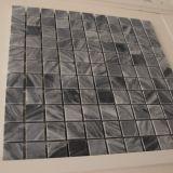 Het grijze Marmeren Vierkante Mozaïek van de Tegel van de Muur van de Steen voor Keuken