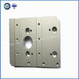 Customed hohe Präzision, die mit Aluminiumteilen maschinell bearbeitet