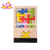 Novo formato 3D mais quentes Identificar Puzzles Iq de madeira para crianças W14A174