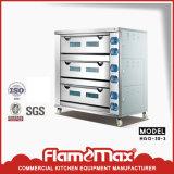De Oven van het Baksel van het gas (3-dek 9 dienblad) (hgo-30-3)