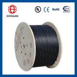 Câble plat extérieur de fibre de 192 faisceaux pour l'application Gydts de conduit