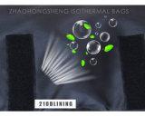 Logotipo personalizado de la bolsa de la entrega de alimentos para mantener tibias o calientes Pizza en el invierno