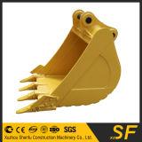 Compartimiento resistente del suelo del compartimiento PC120 con los dientes del compartimiento