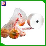 Sac à provisions en plastique de qualité et de produit biodégradable populaire