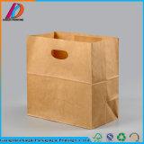 Il ristorante di vendita caldo riciclabile toglie il sacchetto della carta kraft degli alimenti a rapida preparazione