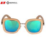 Marcação ce400 Madeira polarizada óculos UV