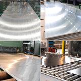 O PVC de ASTM AISI revestiu a placa de aço inoxidável escovada cetim