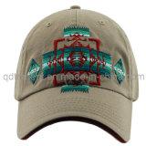 洗浄された共同刺繍サンドイッチあや織りのスポーツの野球帽(TMB9041)
