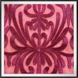 Шнурок вышивки сетки шнурка вышивки хризантемы Nylon