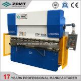 Wc67y-80T2500 E21 machine CNC de flexion de la plaque hydraulique