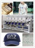 Máquina del bordado del ordenador del estilo de Tajima para el bordado del casquillo y de la camiseta
