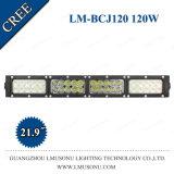 Lumière jaune blanche de CREE de 22 pouces de barre droite neuve d'éclairage LED