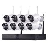 8CH NVR беспроводной домашней сети Smart CCTV системы видеонаблюдения
