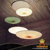 مطعم داخليّة زخرفيّة حديثة بناء فنية سقف مصباح ([كش13])