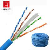 Solutions réseau Intellinet CAT6 RJ-45 mâle/mâle RJ-45 UTP Câble de raccordement réseau, 100 pieds (342551)
