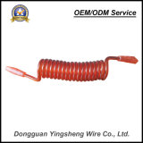 Sprung-Kabel Pur des Qualitäts-Stahldrahtseil-TPU gewundenes Kabel zur Sicherheit