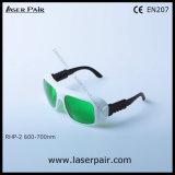 635nm、650nmのLaserpairからの694nmレーザーの保護Eyewearの30%の伝送