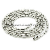 L'acier 4inch chaîne à billes de métal plaqué nickel