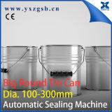 Lata de estanho 10-20L redonda grande inteiramente automática específica que faz a máquina da selagem