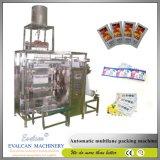De automatische Verticale Multi-Lane het Vullen van het Sachet van de Stok van het Deeg van de Tomatensaus Verpakkende Machine van de Verpakking