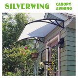 Tenda/parasole/baldacchino di plastica del policarbonato di DIY per i portelli e Windows (YY-C)