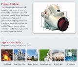 Pompe centrifuge axiale de double aspiration d'étape simple de cas de fractionnement