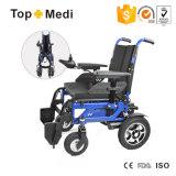 Prix bon marché de fournisseur de fauteuil roulant pliant le fauteuil roulant électrique de fauteuil roulant de pouvoir