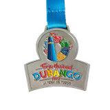 Medaglie di nichelatura della medaglia di sport di esecuzione di maratona di sfida di Competetive con sabbiatura