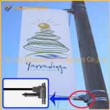 Hardware esterno di Bannersaver di media dell'alberino della lampada di via