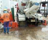 يشغل شاحنة عجلة غسل آلة نظامات