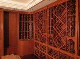 Bodega modificada para requisitos particulares hecha a mano de madera en grande de la bodega
