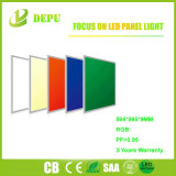 Lámpara plana aprobada de la luz del panel del techo LED RGB de Dimmable del Ce