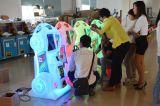 Máquina de bilhetes de loteria de diversões para operação de moedas