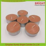 Candela di Tealight di colore Brown