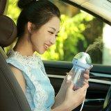 귀여운 우유 아기 가습기 아름다운 LED 가벼운 차 가습기를 가진 휴대용 소형 방향 유포자