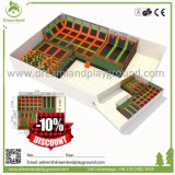 China Fabricación hecho personalizado Top trampolín trampolín mundo