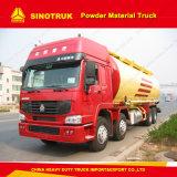 Sinotruk HOWO 371HP 6X4 분말 부피 시멘트 유조 트럭