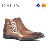 2018 Hommes unique des bottes en cuir des chaussures de qualité hi