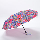 عادة زهرة يطبع يطوي مظلة