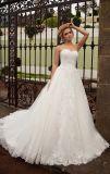 Амели скалистых милая кружева устраивающих свадебные платья с Corset поезда