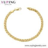 75453 Newst bracelete de pedra de moda de platina com cristais de joalharia Swarovski