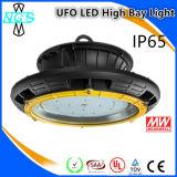 Hochwertige Marken-Chips und Licht Meanwell Fahrer UFO-LED Highbay