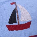 Colchas lavável 100% de algodão azul conjunto de roupa de cama de Duas Peças