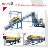 PE van het afval de Plastic pp Lijn van de Was en van het Recycling