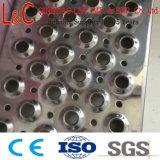 Los diamantes de la seguridad del soporte de agarre de rejilla de peldaños de escalera