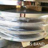 Bobine d'acier feuillard d'acier inoxydable de 3/4 pouce 301 attachant la bande