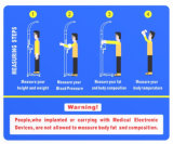 Höhen-und des Gewicht-BMI Maschinen Messen u. Analysen-Instrument-wiegende Schuppen