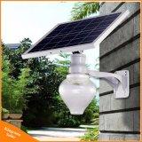 6W lampe solaire Integrated de jardin de réverbère d'Apple/pêche