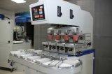 La machine d'impression de garniture de 4 couleurs pour la bouteille peut la surface mentale en verre de cuvettes avec Coveryor